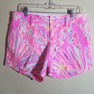 Lilly Pulitzer Callahan Short Like New 6 Mid Rise